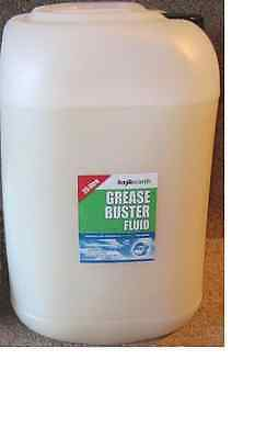 Grease Buster, Biological and Enzyme dosing system, REFILL LIQUID 25L
