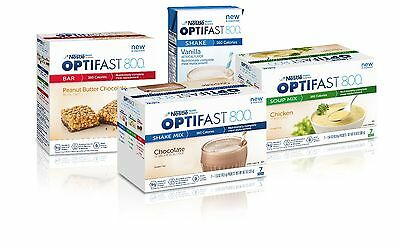 Optifast 800 Chocolate Bars | 6 Boxes | 42 Servings | Brand New | Latest Dates