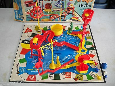 1970's Mouse Trap Game by IDEAL