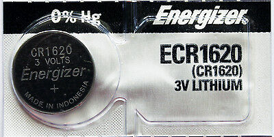 2PC Energizer CR1620 1620 Coin Cell Battery - Ships from Canada
