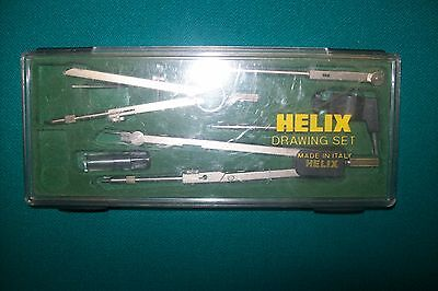 HELIX Drawing Drafting Set -Made in Italy - In original Case