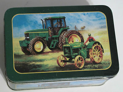Tin Can John Deere Model D Tractor Graphic 1924 - 1953  Vintage