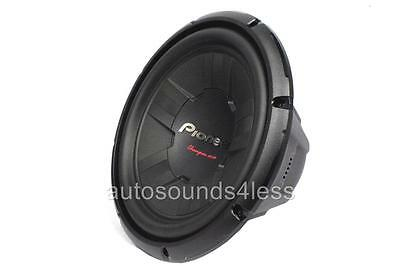 "Pioneer Champion Series TS-W311D4 1400 Watts 12"" Dual 4 Ohm Car Subwoofer New"