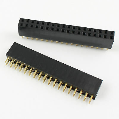 Active Components 100pcs 2x6 Pin 12p 2.54mm Double Row Female Straight Header Pitch Socket Strip Customers First