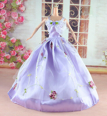 New Handmade Party Clothes Fashion Dress for Noble Doll  #y25