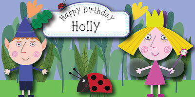 Ben and Holly Birthday Card Personalised