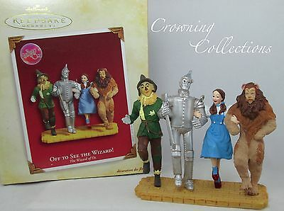 2005 Hallmark Off To See The Wizard of Oz Ornament Keepsake Dorothy Gale RARE