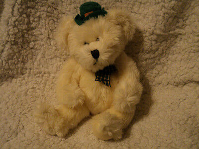 RUSS White O'BRIEN BEAR Irish Green St Patricks plush
