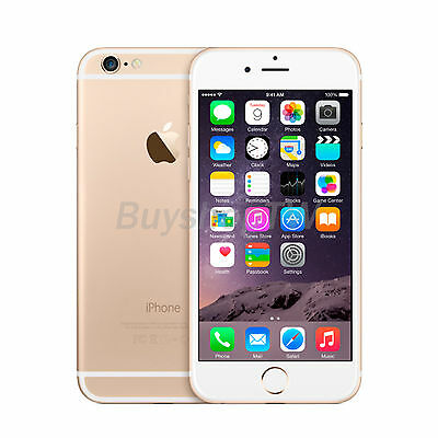 Apple iPhone 6 16GB 4G (Unlocked) 4.7in 8MP A8 NFC Touch ID nano-SIM Gold