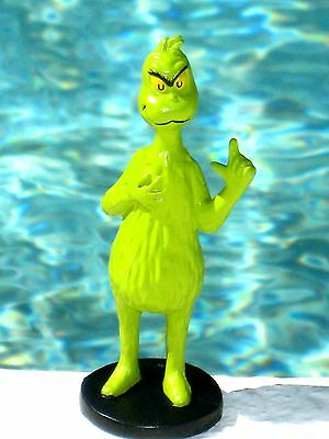 Dr. Seuss How the Grinch Stole Christmas PVC Figure Cake Topper Toy