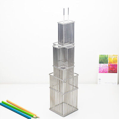 Willis Tower (formerly Sears Tower) Wire Model Replica Statue of Chicago Gifts