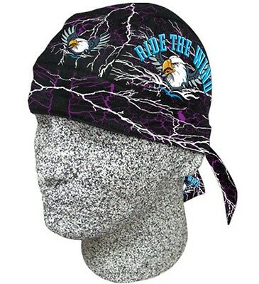 Ride the Wind Eagle Headwrap Bandanna Sweatband Durag Capsmith Free Shipping