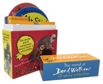 David Walliams CD Story Collection Audio CD – Audiobook (RRP £40) 14 CDs