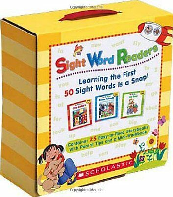 Sight Word Readers Parent Pack by Scholastic (Paperback)- New