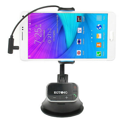 Universal Car Mount Holder USB Charger FM Transmitter Handsfree TF SD MP3 Player