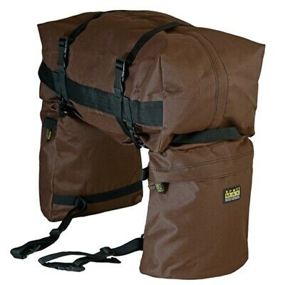 trailMAX Junior Saddlebags, Satteltasche Western Packtasche, braun