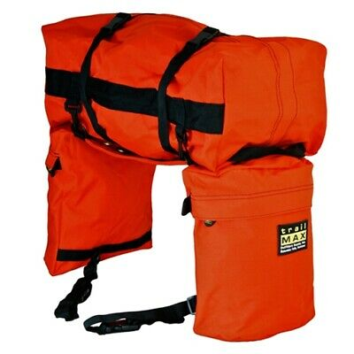 trailMAX Junior Saddlebags, Satteltasche Western Packtasche, orange