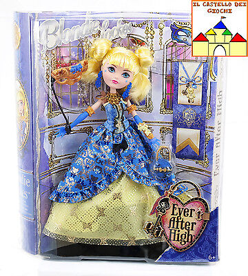 Ever After High Bambola BLONDIE LOCKES 30cm Festa del Trono by Mattel CBT92