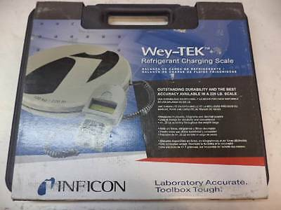 New Inficon Wey-Tek 713-500-G1 Refrigerant Charging Scale