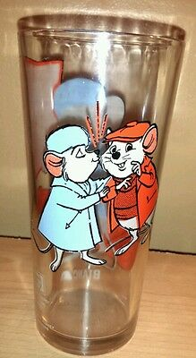 DISNEY 1977 BIANCA 'THE RESCUERS PEPSI COLLECTOR GLASS'
