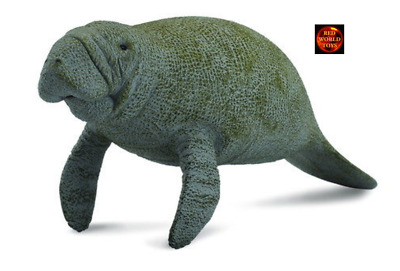 MANATEE - Sealife Toy Model by CollectA 88455 *New with Tag*
