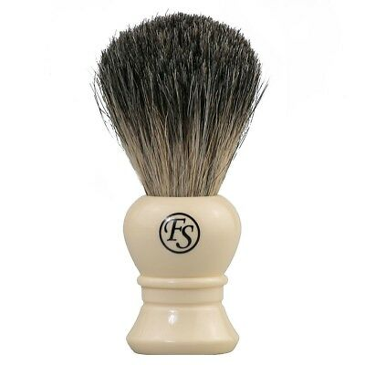 Frank Shaving Mixed Badger Beginner Traditional Shaving Brush White