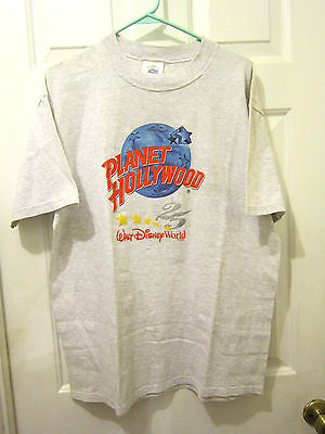 "PLANET HOLLYWOOD  ""WALT DISNEY WORLD""  T-SHIRT - (Large)"