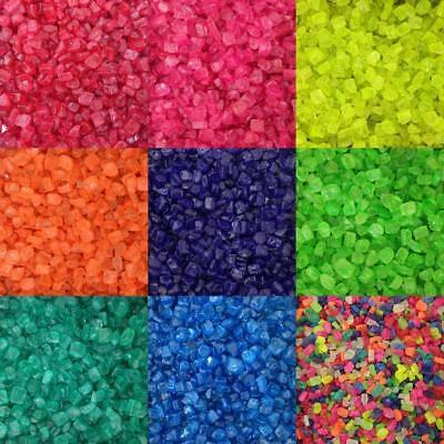 Aquarium Fish Tank Gravel Stones Gems Substrate Coloured Sweeties 3-5mm 5-60kg • EUR 12,44