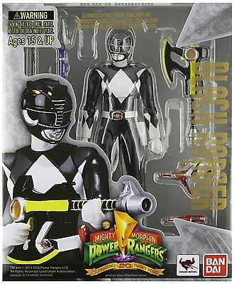 *NEW* Mighty Morphin Power Rangers Black Ranger S.H.Figuarts Action Figure