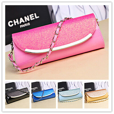 New Ladies Diamante Party Prom Bridal Evening Clutch Hand Bag Purse Handbag