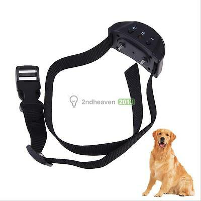 Voice Tone Shock Anti Bark No Barking Control Collar for Small Medium Size Dog