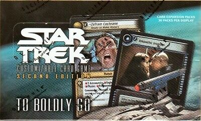 Star Trek Ccg 2E : To Boldly Go Booster Box Sealed New