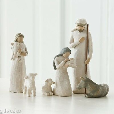 Nativity Set Willow Tree Piece New Demdaco 6 Lordi Susan Christmas Box Figurine