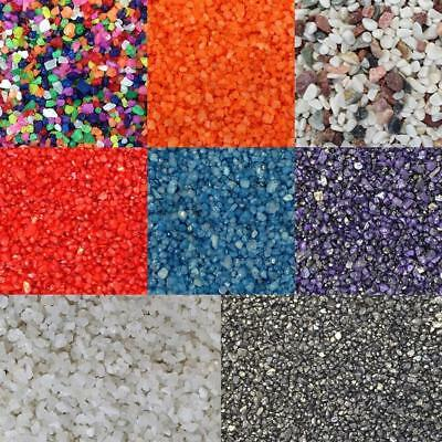 Aquarium Fish Tank Gravel Sand Stones Substrate Coloured Sweeties 4-6mm 5-60kg