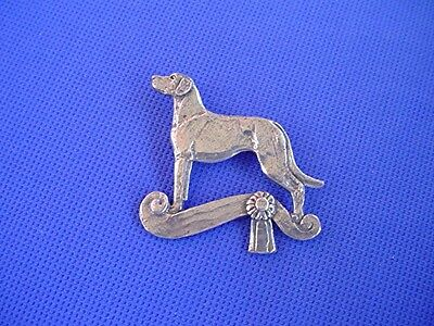 Rhodesian Ridgeback Pin #60E Coursing Pewter Dog Jewelry by Cindy A. Conter