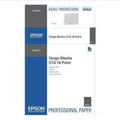 "S045171 - EPSON Tango Blanks C1S 18 Point 24"" x 36"" (50 sheets)"