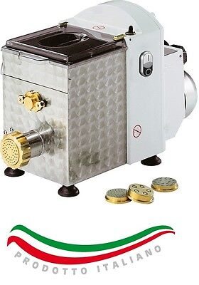 ITALIAN ELECTRIC PASTA NOODLE MAKER MACHINE 1,5 KGS 3,3lb WITH 15 PASTA DIE !