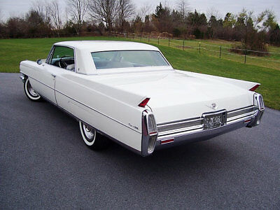 1964 Cadillac COUPE DEVILLE, White Beauty, Refrigerator Magnet, 40 MIL