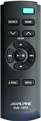 Alpine Ine-W927Hd Inew927Hd Genuine Rue-4202 Remote *pay Today Ships Today*