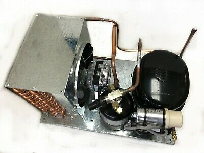 Indoor AE4440Y-1 Condensing Unit 1/3 HP, High Temp, R134a, 115V Assembled in USA
