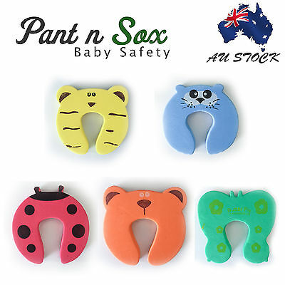 4 Pcs Baby Door Stopper Finger Pinch Guard Kids Toddler Child Safety Guard Gift