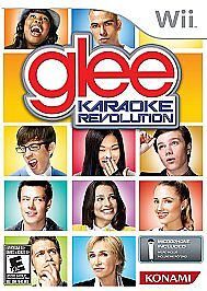 Brand New Karaoke Revolution: Glee  (Wii, 2011) Game Only