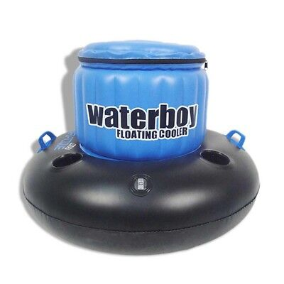 Waterboy Inflatable Floating Drinks Ice Cooler   Pool Party Beverage Holder