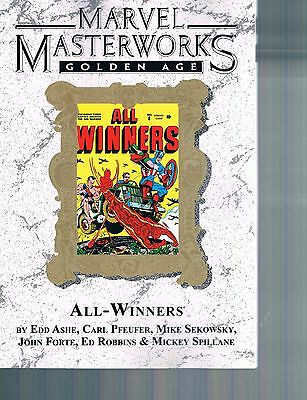 Marvel Masterworks Golden Age Vol 71 All-Winners TPB Limited to 325 copies