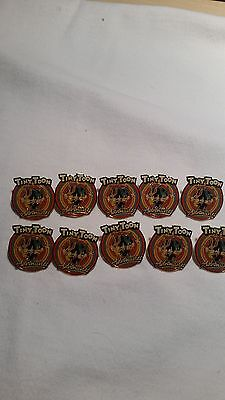 Collection of 10 Looney Tunes Warner Brothers Enameled Pins NEW