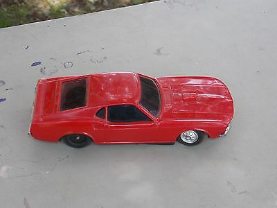 Vintage Red Battery Operated Car Made Hong Kong - not working