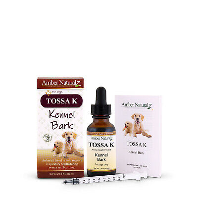 Organic Tossa-K (previously Kennel-Koff) - Natural Pet Cough Respiratory Remedy