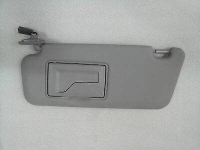 85201 2L520TX Left Driver Sunroof-type Sun Visor for 2008 2011 Hyundai i30 i30cw