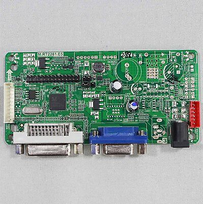DVI+VGA LCD contoller board work for lots of lcd screens-Only driver board