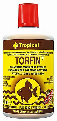 TROPICAL TORFIN NATURAL BIO-STIMULATOR PEAT EXTRACT FOR AQUARIUM FISH TANK 500ml
